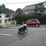 車椅子を体感してもらう