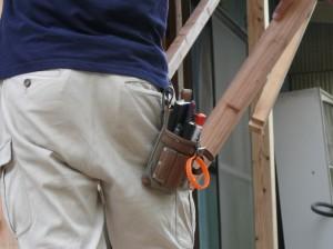 腰に身近な道具を装備