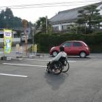 小原さんと車椅子