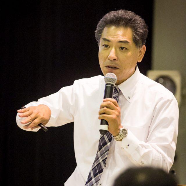 山形茂生氏(同協議会教育部会長)