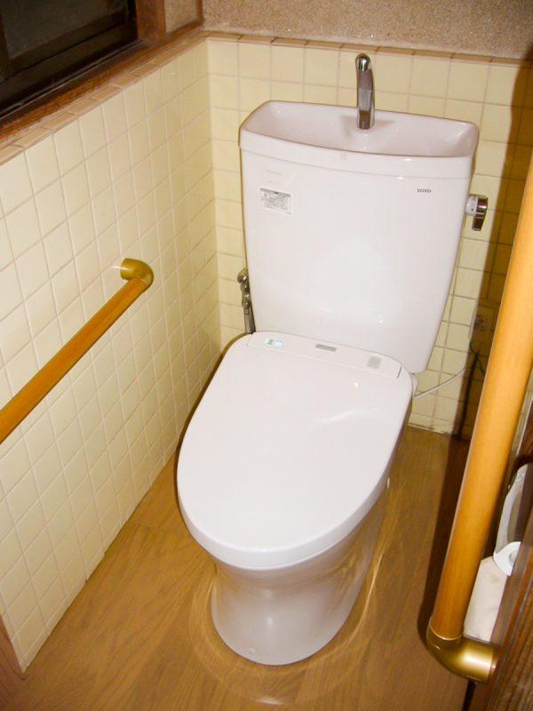 【段差解消】トイレの便器取り換え|工事代金 200,000円~