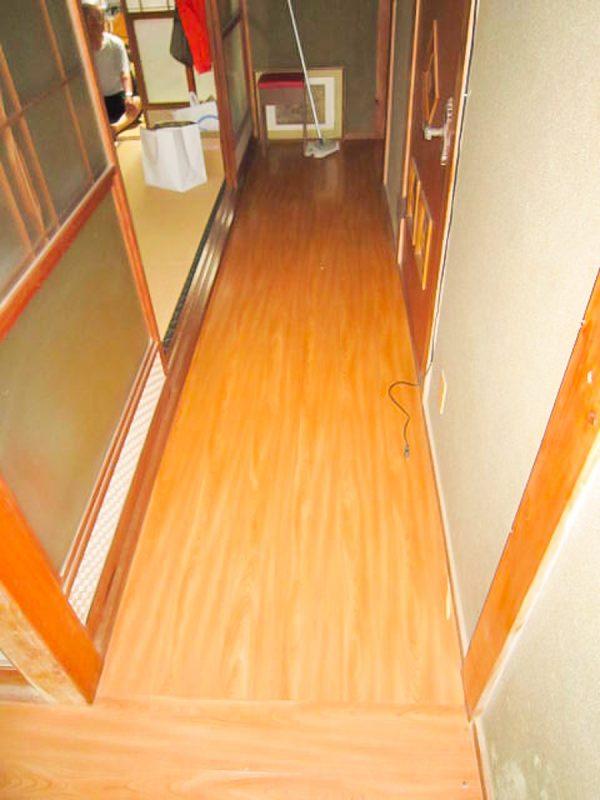 【段差解消】廊下の敷居|工事代金 100,000円